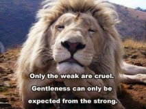 only the weak